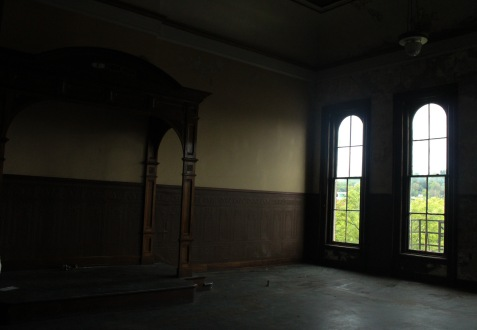 Chillicothe oddfellows altar and window