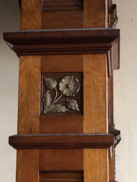 chillicothe oddfellows altar woodwork 2