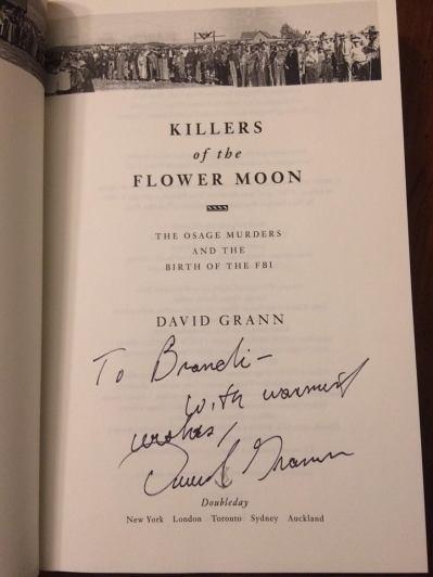 David Grann signature