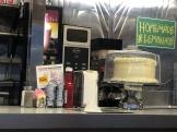 Oasis Diner cake and lemonade)