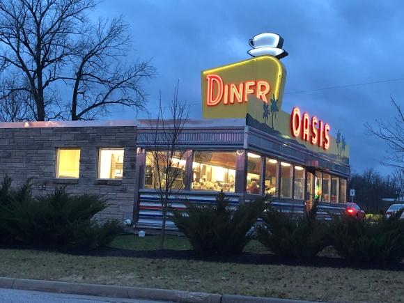 Oasis Diner exterior