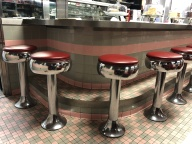 Oasis Diner stools