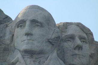 mt rushmore up close