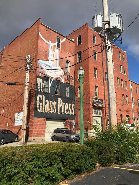 glass press