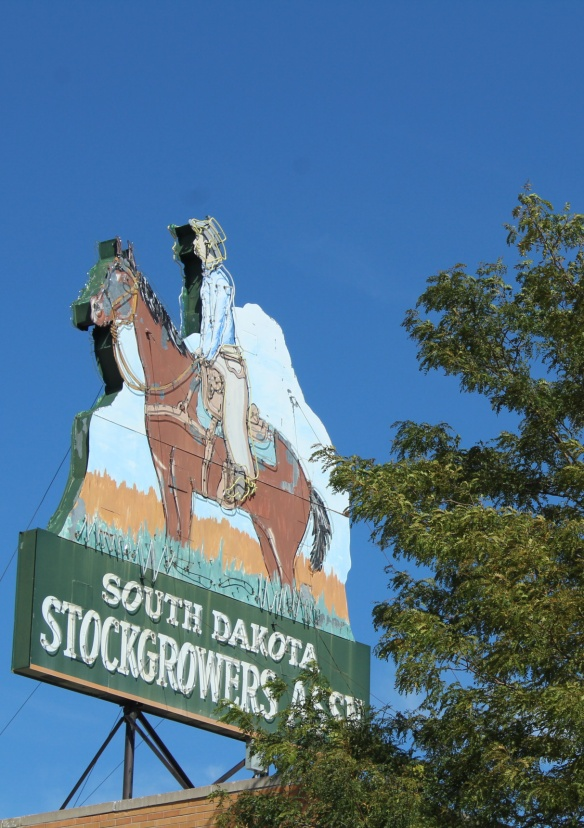 Stockgrowers Association sign